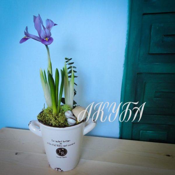 "Композиция из цветов ""Весна идет"""
