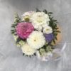 """Шляпная коробка с цветами """"Нежность"""""""