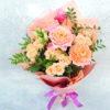 Букет «Персиковый сад»