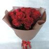 Роза красная в упаковке 5
