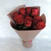 Роза красная в упаковке 2