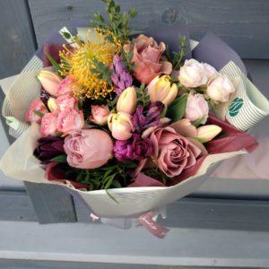 Букеты с тюльпанами в Минске