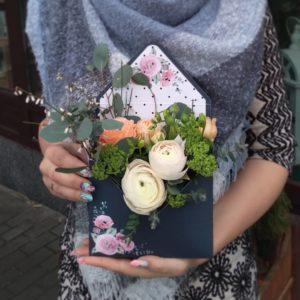 Композиции из цветов в Минске