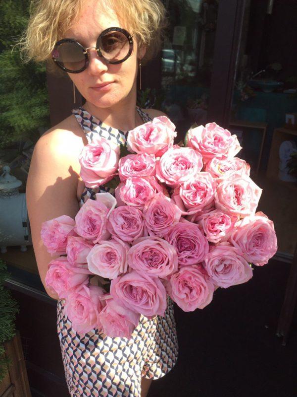 Букет из роз Пинк Охара