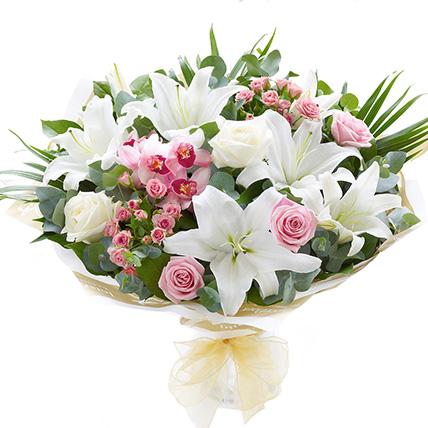 Букеты c розами сборные